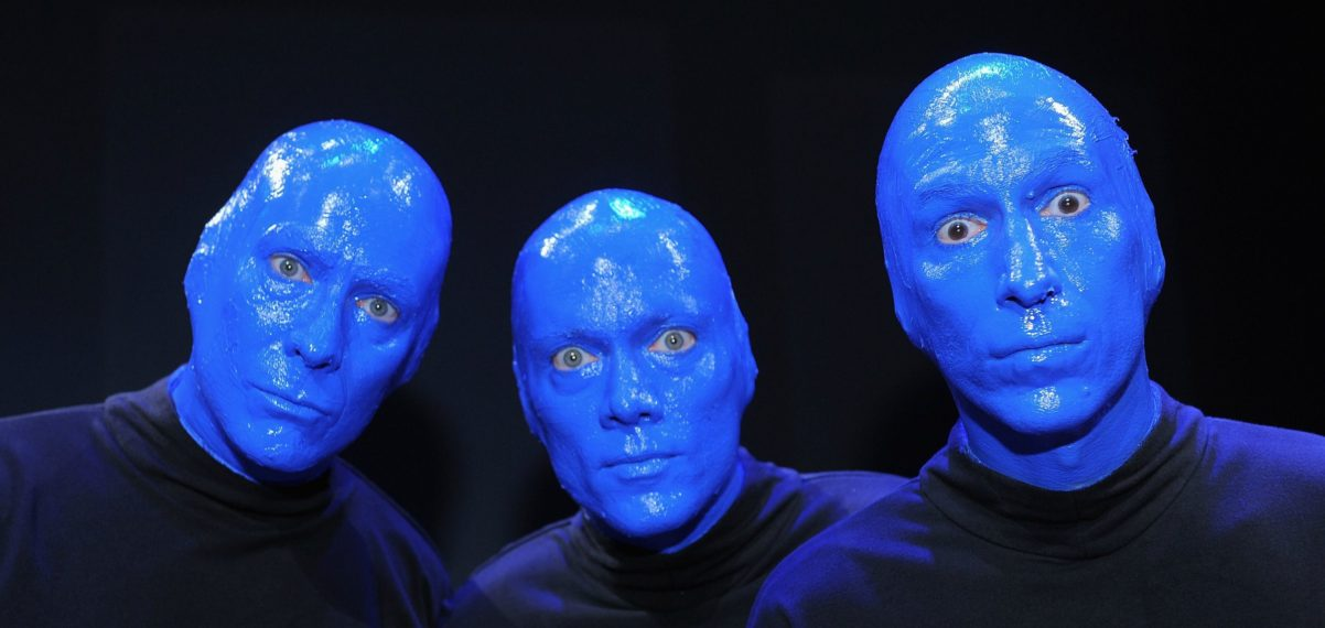 Blue Man Group Berlin 2021